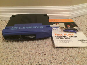 Linksys Router with 4 port Switch