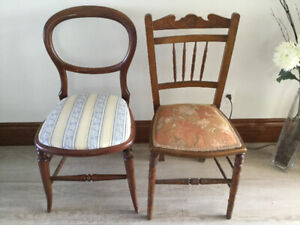 A Pair of Chairs- Classic n Antique.