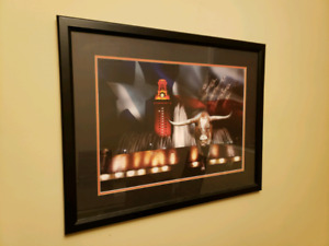 Wall Framed Picture - Texas Longhorn Framed Victory Picture