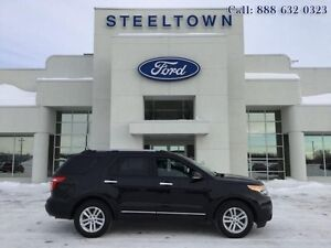 2013 Ford Explorer XLT FWD LEATHER/MOON   - $155.07 B/W