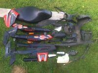 Gilera runner breaking 50cc 125cc spares or repairs plastics