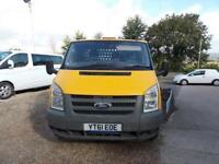 Ford Transit 350 E/F C/C Drw Dropside Lorry 2.4 Manual Diesel