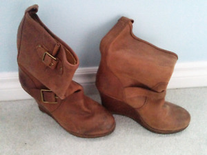 Luck Brand leather boots