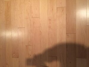 80 square feet new PERVERCO - Natural Maple T&G flooring
