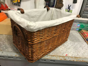 Wicker Bike Basket (with handles)