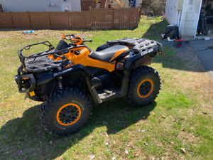2015 Can Am outlander XTP 1000 w/ tracks and plow
