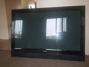 42 inch TV with remote and mount