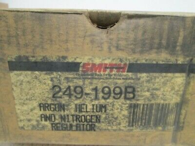 Smith 249-199b Argon Helium And Nitrogen Regulator New In Box
