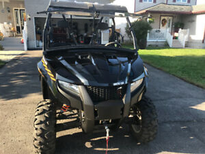 2016 Arctic Cat Prowler with 1448 km for sale by original owner.
