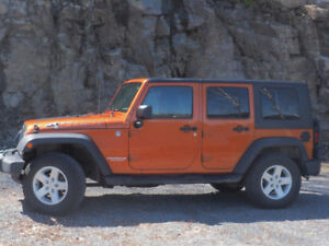 Jeep Wrangler 2010 $ portes Impeccable
