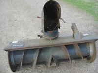 Heavy Duty Snowblower for 70's Sears / Roper Garden Tractors