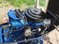 20hp Suzuki outboard motor