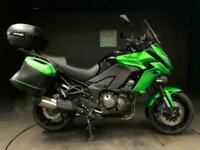 KAWASAKI VERSYS 1000 GT. DEC 15. FSH. 24690. FULLY LOADED. VALVE SERVICE DONE.