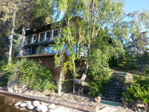 WATERFRONT HOME ON FRANCOIS LAKE BC