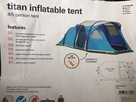 Titan inflatable tent