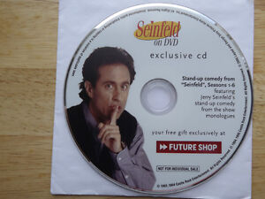 """FS: 1994 Castle Rock Ent. """"Seinfeld on DVD exclusive cd"""" Picture London Ontario image 1"""
