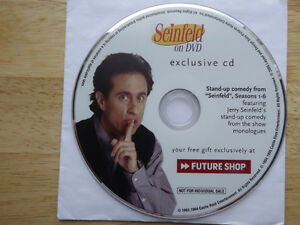 "FS: 1994 Castle Rock Ent. ""Seinfeld on DVD exclusive cd"" Picture"
