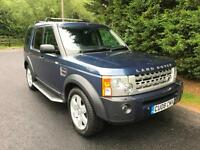 2008 LAND ROVER DISCOVERY 3 HSE 2.7 TDV6 AUTOMATIC 4X4 7 SEATER