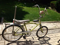 1968 Cougar and a mustang style bicycle