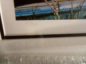 """'CADILLACS AND PACKARDS'  framed Limited Edition Print 16""""X36"""" Kitchener / Waterloo Kitchener Area image 2"""