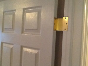 Swing Clear Door Hinges To Widen Doorways For Accessibility Kingston Kingston Area image 1