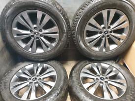 18 inch Genuine Mercedes X class W470 alloy wheels