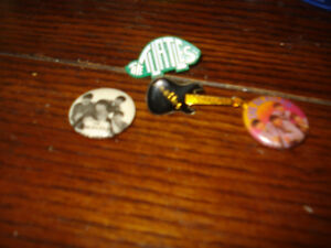 colletable beatles pins