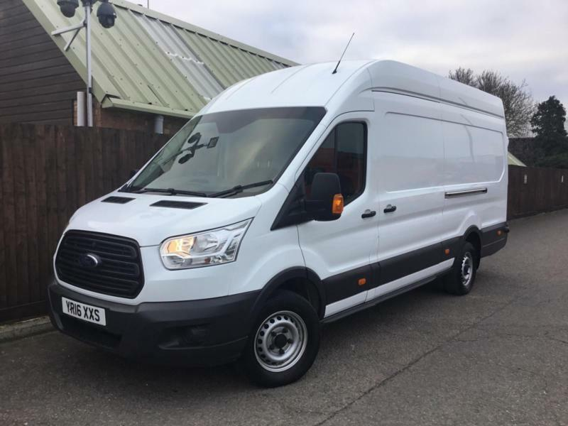 c748ccfd90 Ford Transit Jumbo L4H3 2.2TDCi 125PS RWD 350  1 OWNER  FULL HISTORY