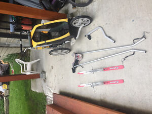 Chariot Stroller with Bike and Ski attachments