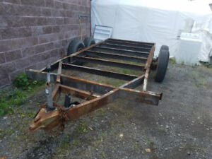 Base chassis pour Remorque 14000 lbs