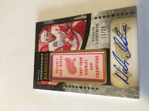 Autographed Hockey card and others