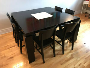 Structube Dining Table ( + optional Ikea Dining Chairs)