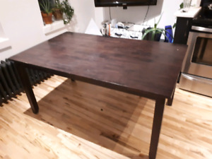 Very Sturdy Wooden Kitchen Table