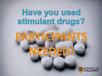 Have you used stimulant drugs? $40 Compensation!