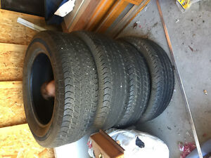 "20""Goodyear wrangler hp set of 4"