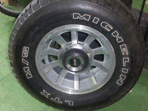 Jeep YJ rims and Michelin package