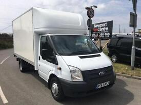 FORD TRANSIT LUTON WITH TAIL LIFT 2.2TDCI ( 125PS ) ( EU5) ( RWD ) 350EF