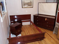 Solid Mahogany Bedroom Suite by Gibbard