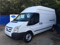2010 60 Ford Transit 2.4TDCi ( 115PS ) 350L (High Roof) 350 LWB Trend Diesel Van