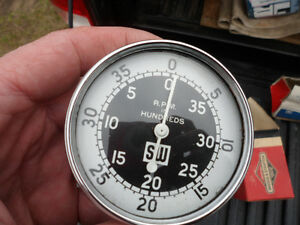 From Estate - New Steward Warner Mechanical Tachometer -