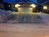 OFFERING RESIDENTIAL SNOW REMOVAL SERVICES 24/7