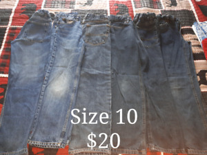 Boys clothes. Sizes and price listed on each photo