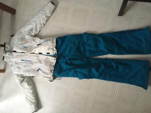 Snowboard pants and jacket