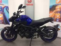 YAMAHA MT09 ABS 2018 MODEL LOW RATE HP OR PCP DEALS FREE SPORTS PACK
