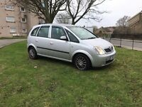 2005 Vauxhall Meriva MOT January 2018!!!!