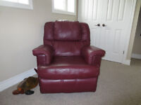 Two Custom Made Recliners