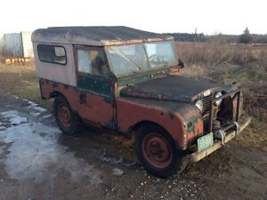 "1956 Land Rover series 1 86"" for sale very original"
