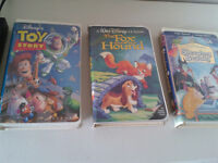 DISNEY VHS MOVIES - $1 EACH OR $3 FOR ALL