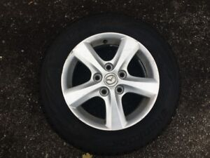 195/65/R15 Hankook Winter Tires on Alloy Rims