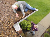 GUTTER CLEANING / EAVESTROUGH CLEANING / WINDOW CLEANING